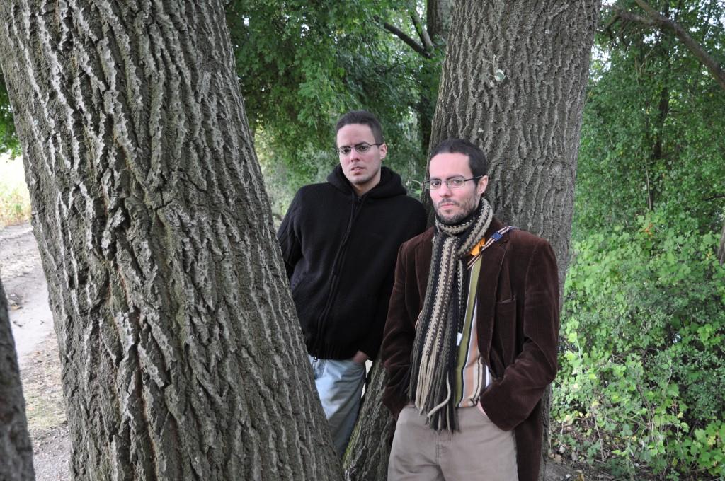 Damien et Nicolas Delmer © JOSEPH JAGO