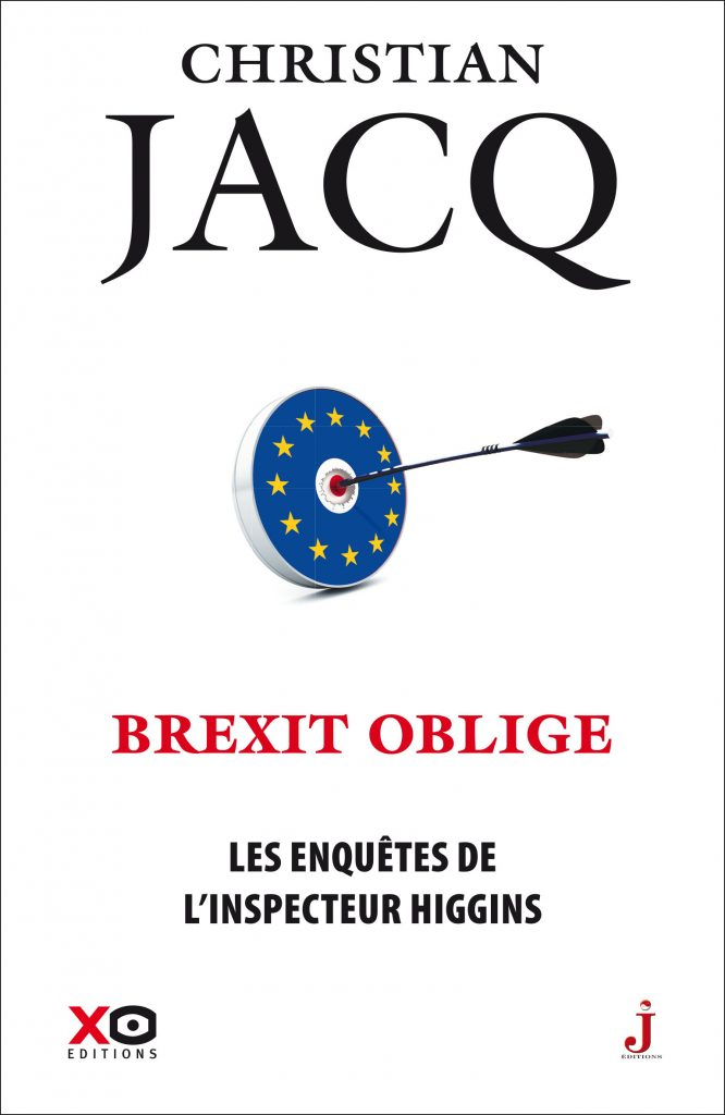 Couverture du tome 26 des Enquêtes de l'inspecteur Higgins, Brexit oblige