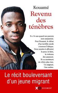 """Couverture du témoignage """"Revenu des ténèbres"""" de Kouamé"""