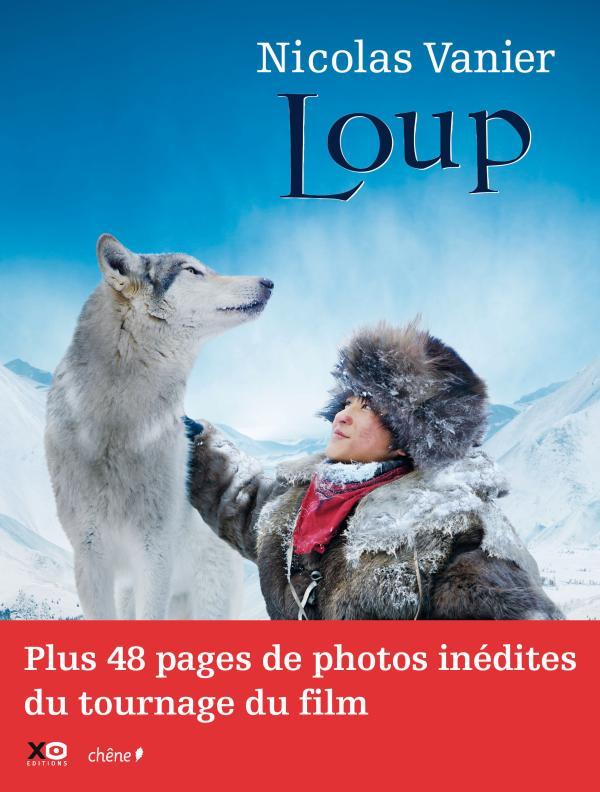 Loup - Nicolas Vanier - Livre illustré