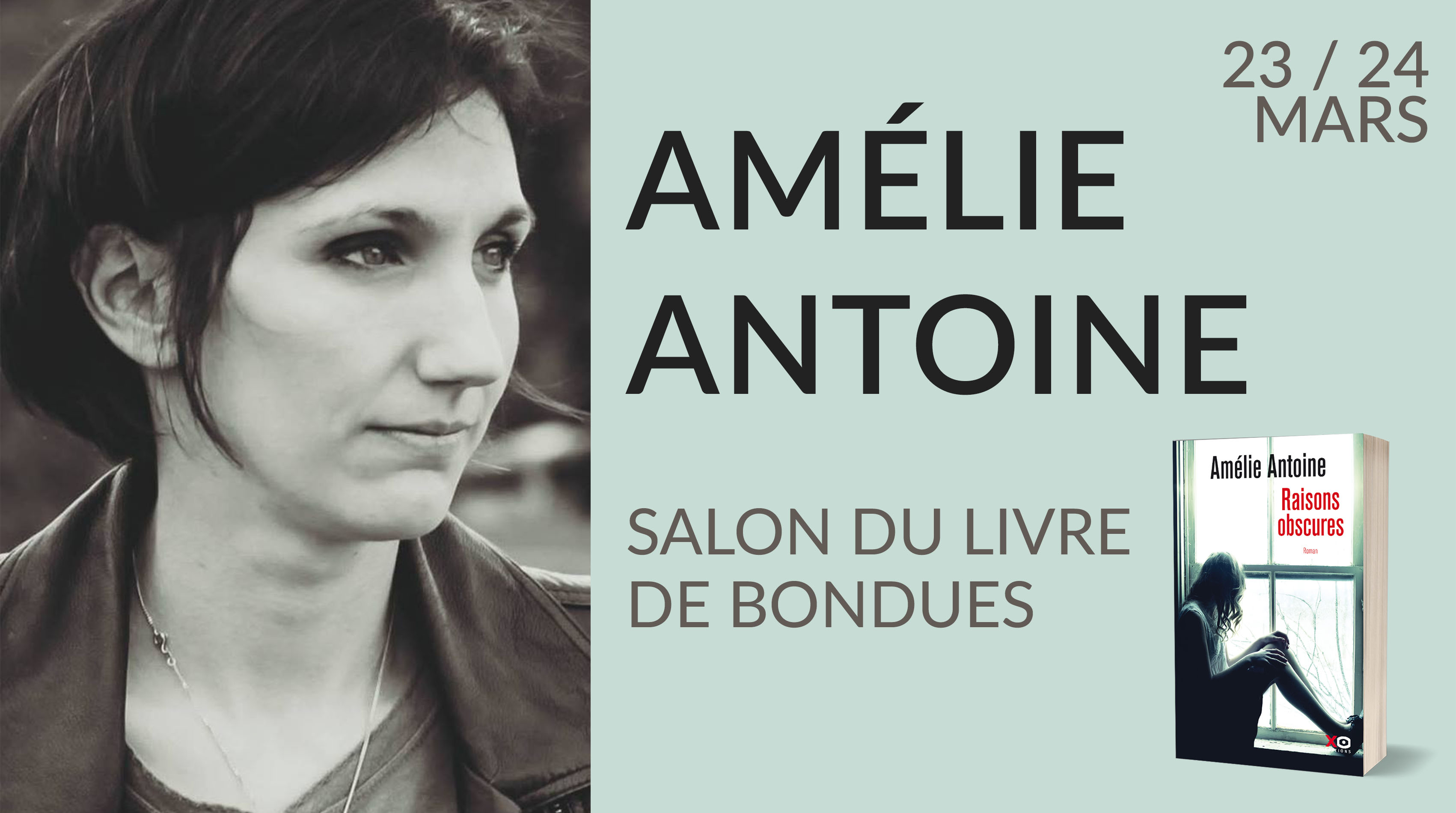 SALON DU LIVRE DE BONDUES - AMÉLIE ANTOINE