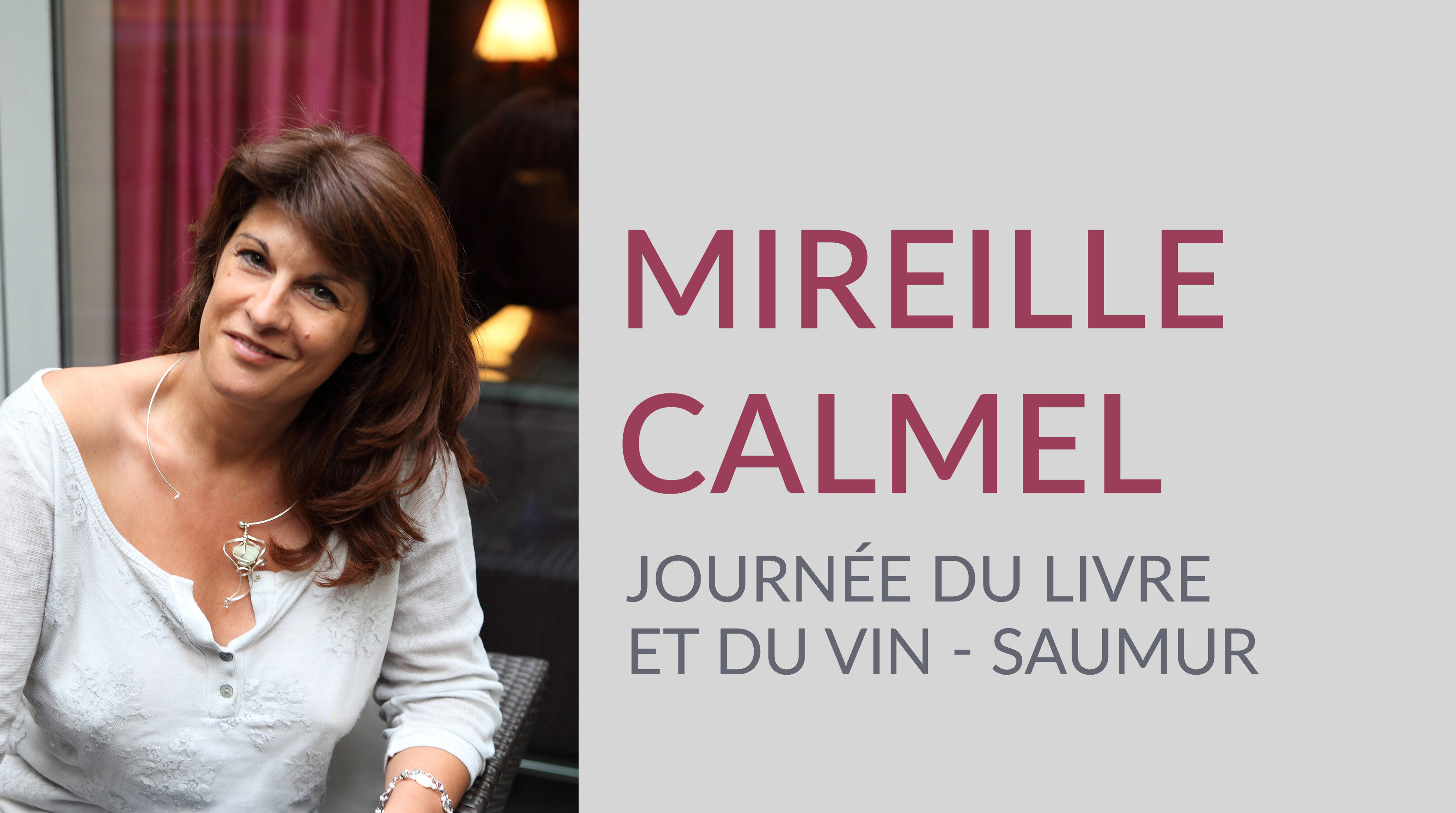 MIREILLE CALMEL À SAUMUR