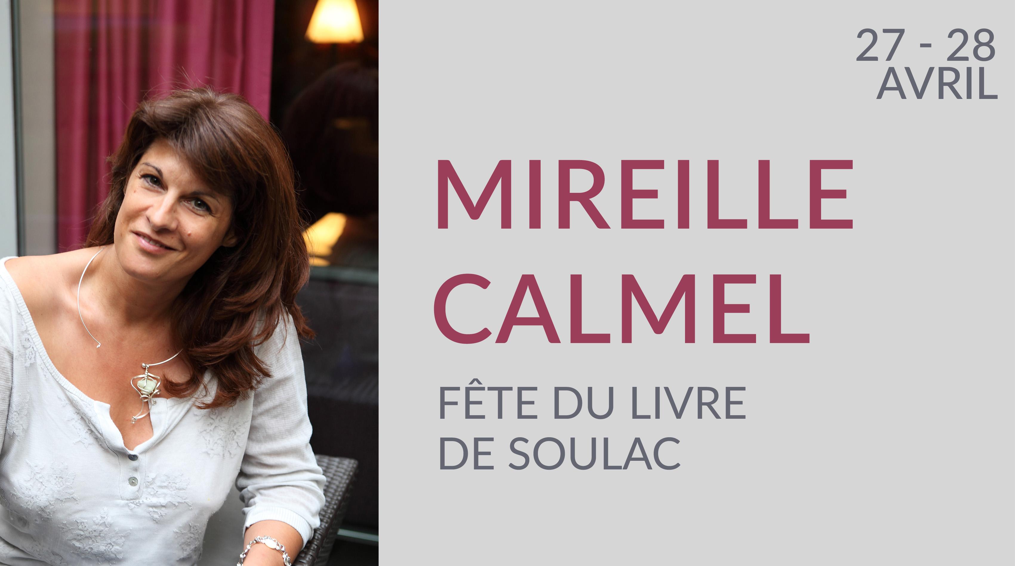 MIREILLE CALMEL À LA FÊTE DU LIVRE DE SOULAC