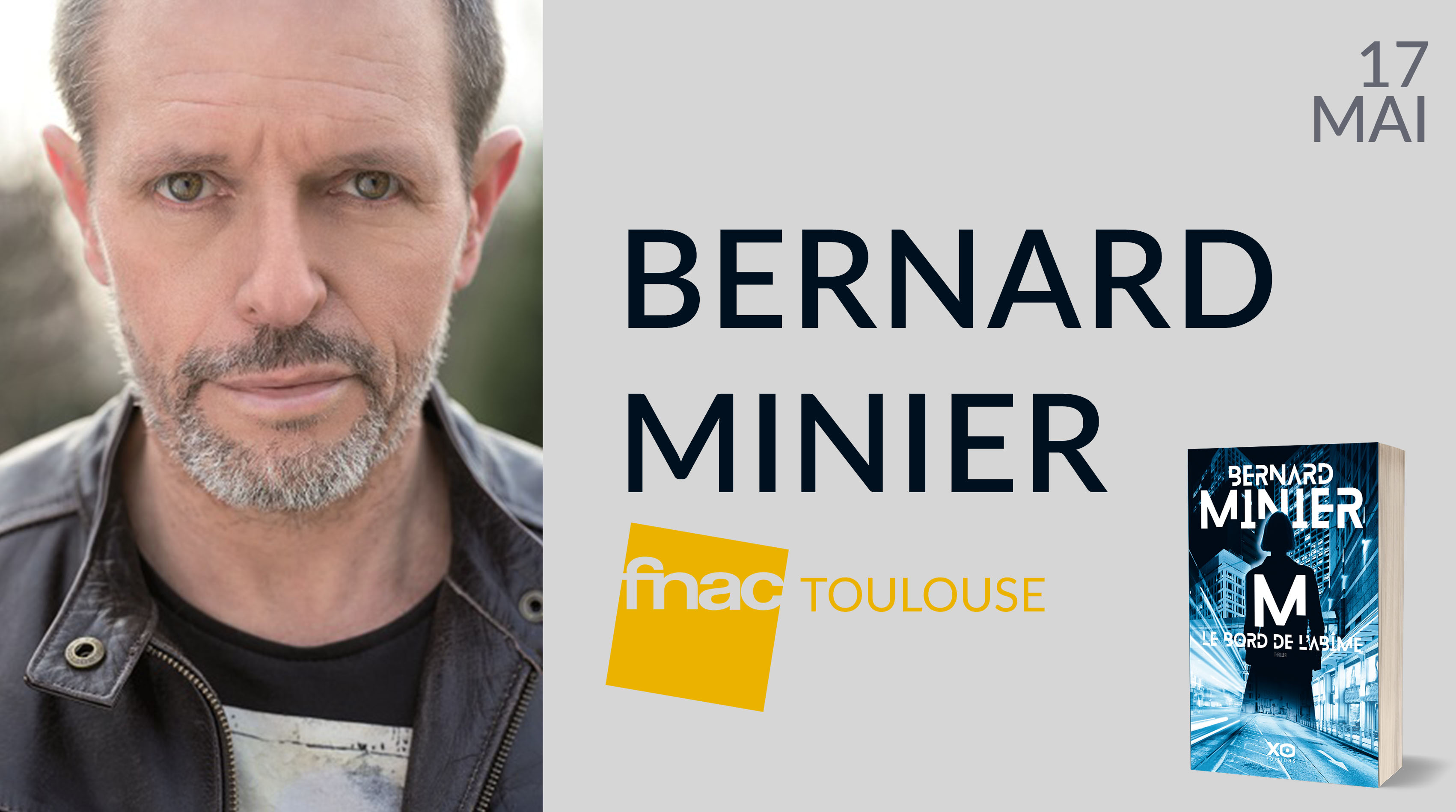 BERNARD MINIER À TOULOUSE