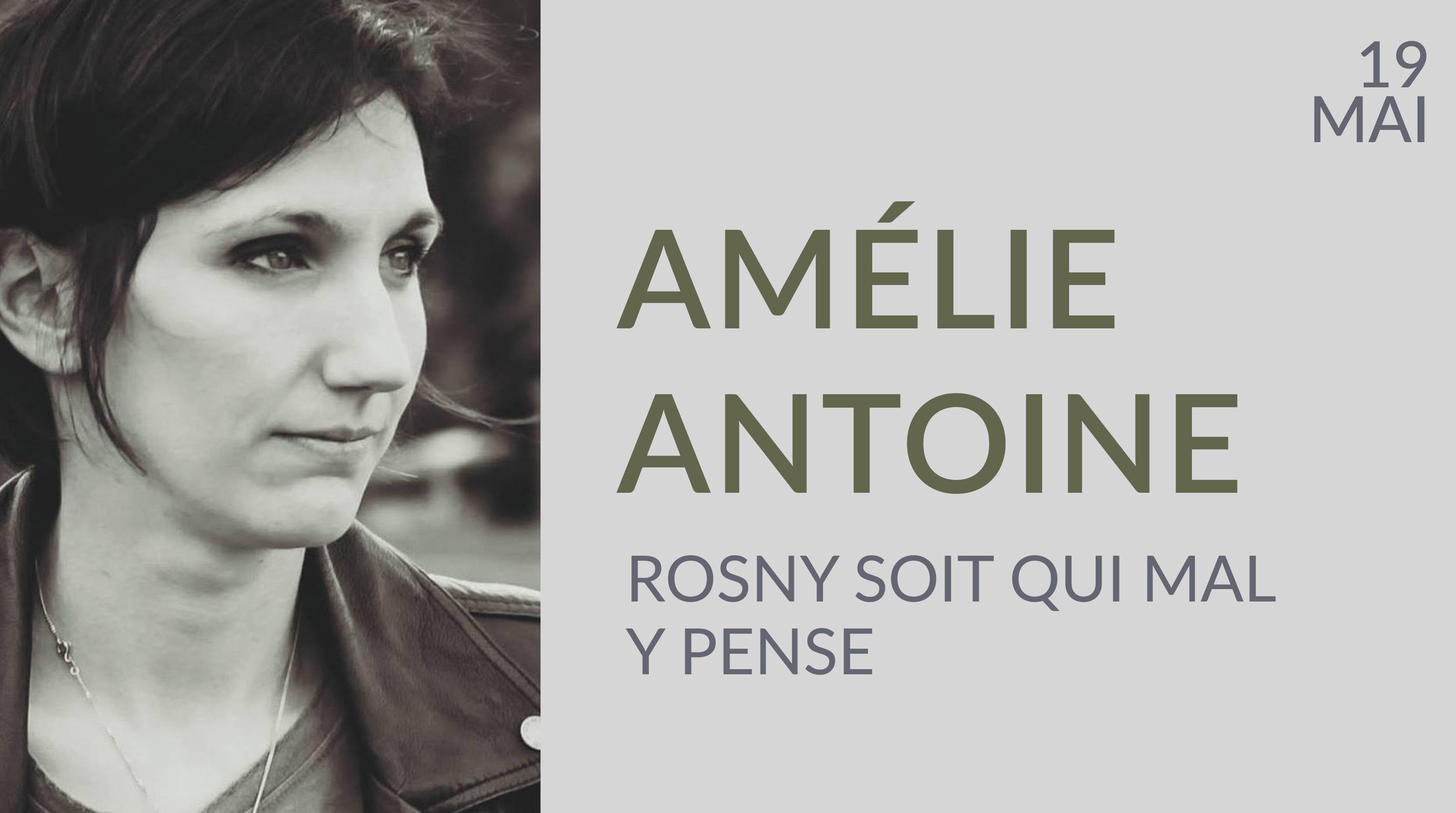 AMÉLIE ANTOINE À ROSNY