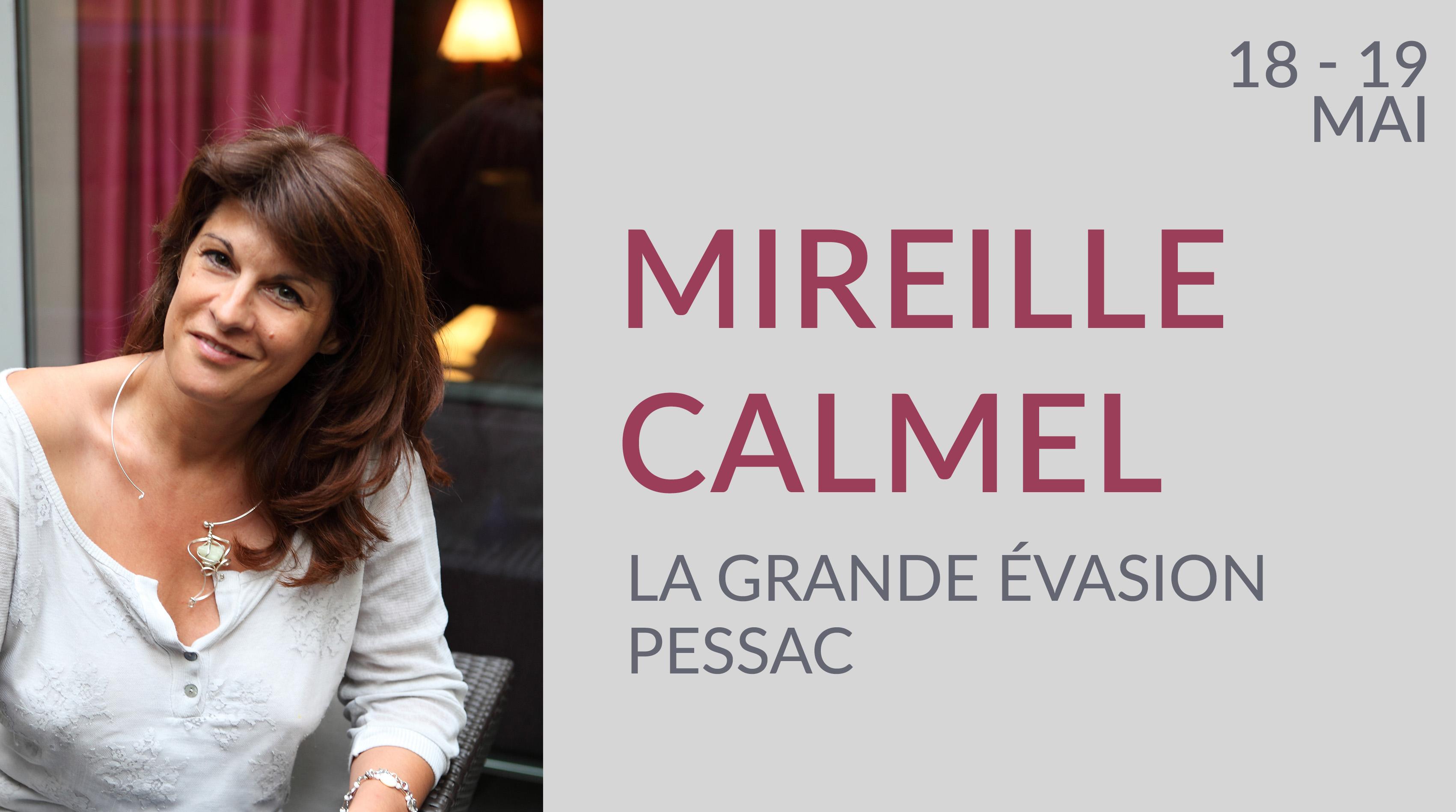 MIREILLE CALMEL À PESSAC