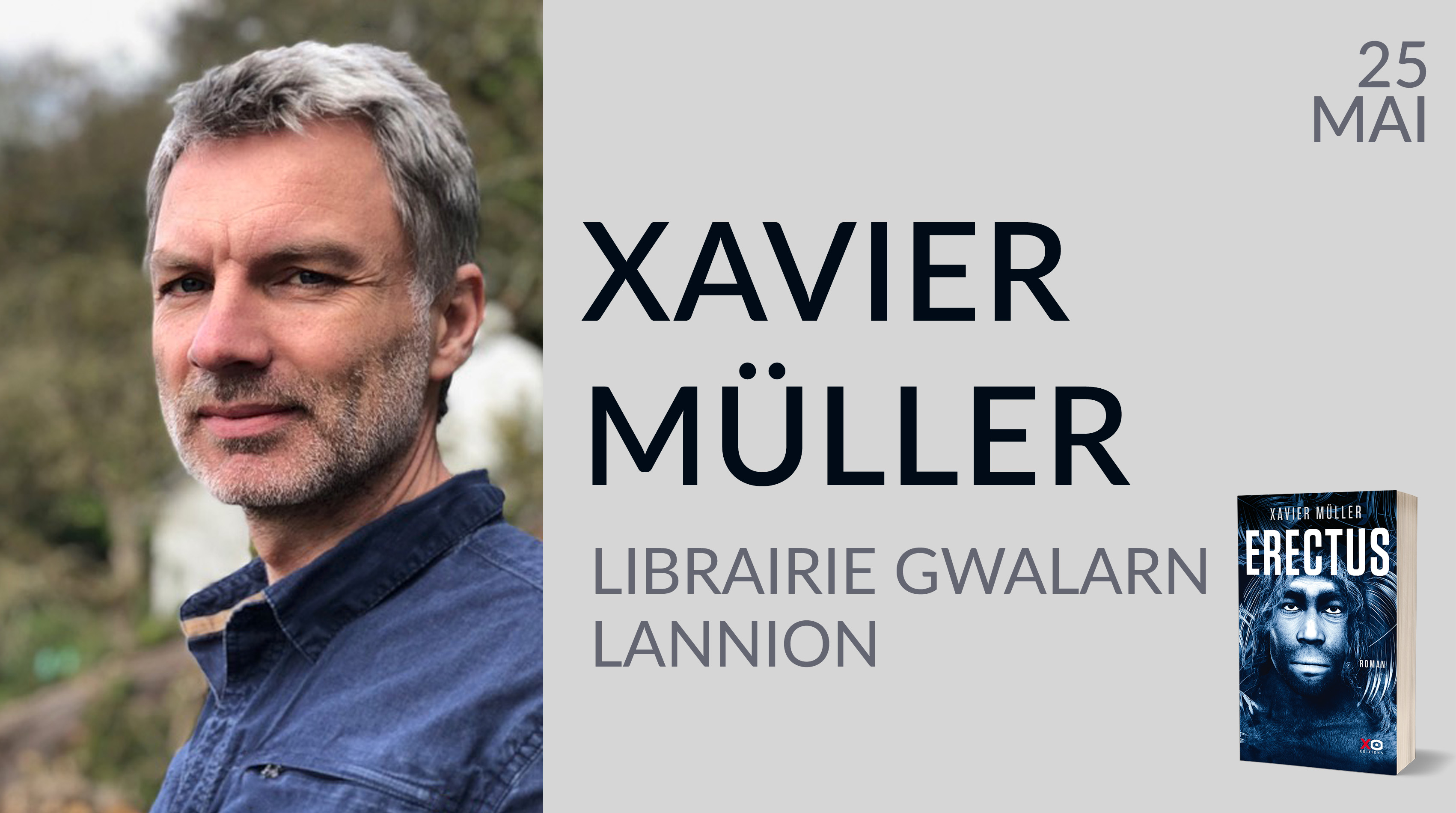 XAVIER MÜLLER À LANNION