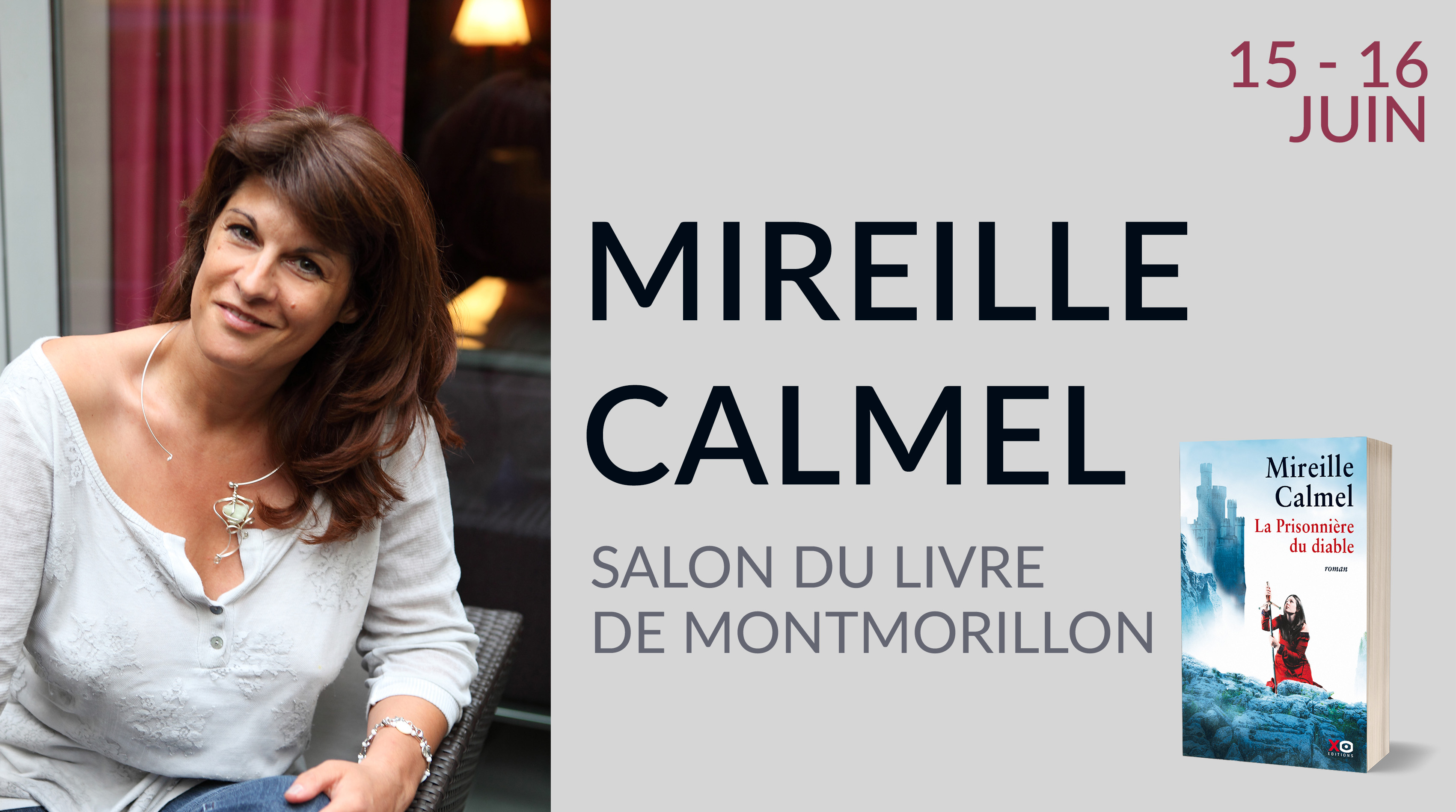 MIREILLE CALMEL À MONTMORILLON