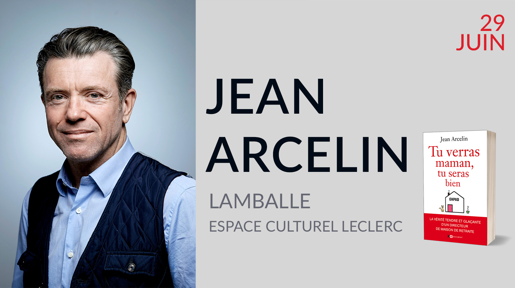 JEAN ARCELIN À LAMBALLE