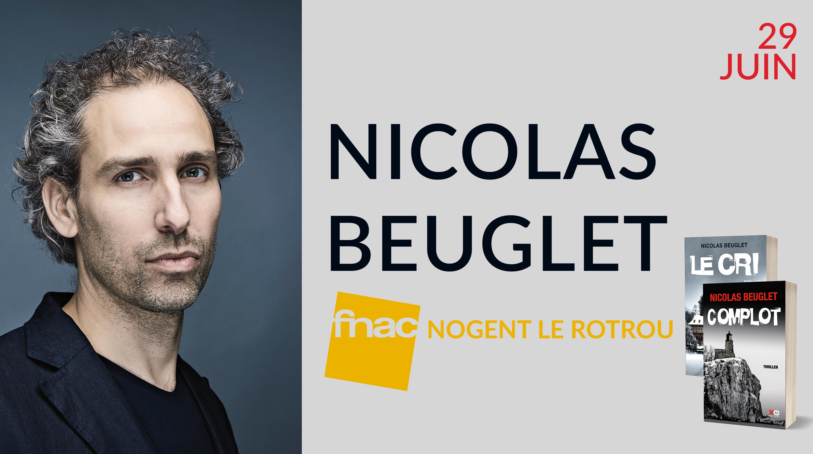 NICOLAS BEUGLET À NOGENT LE ROTROU