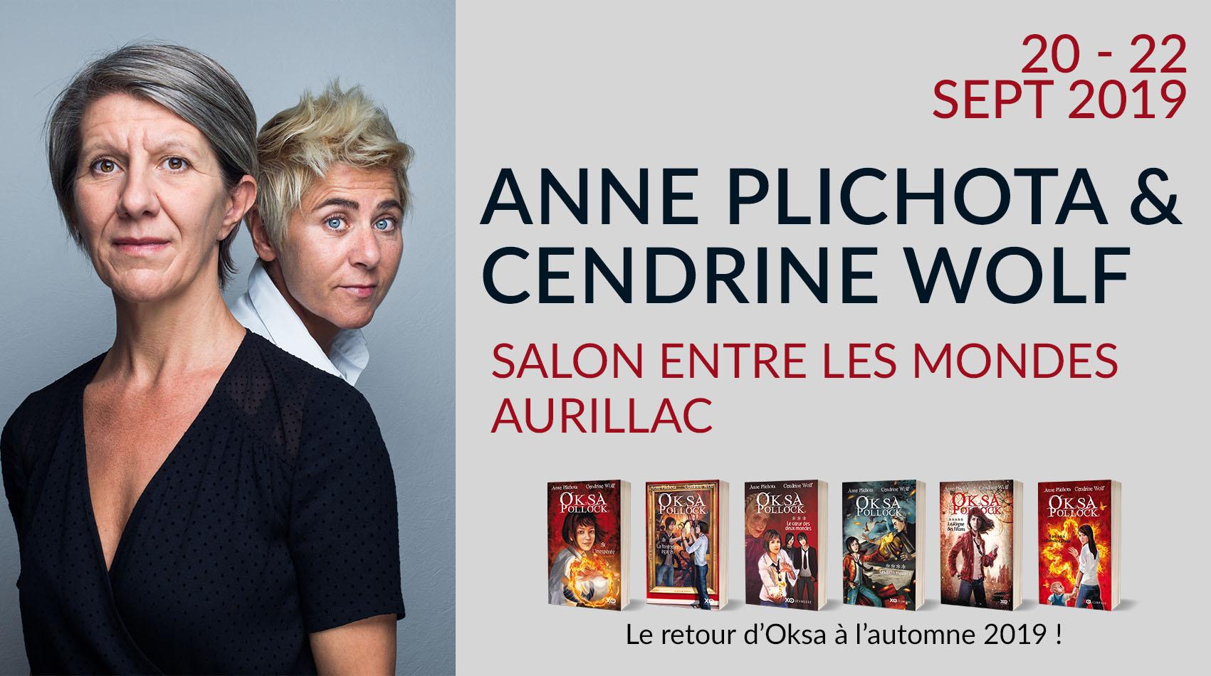 ANNE PLICHOTA & CENDRINE WOLF À AURILLAC