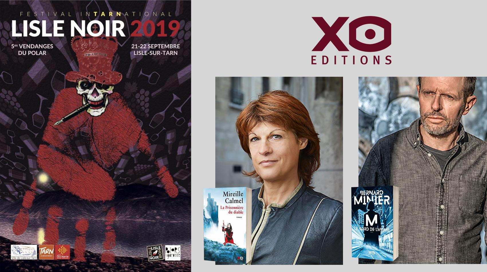 Les auteurs XO à Lisle Noir 2019 !