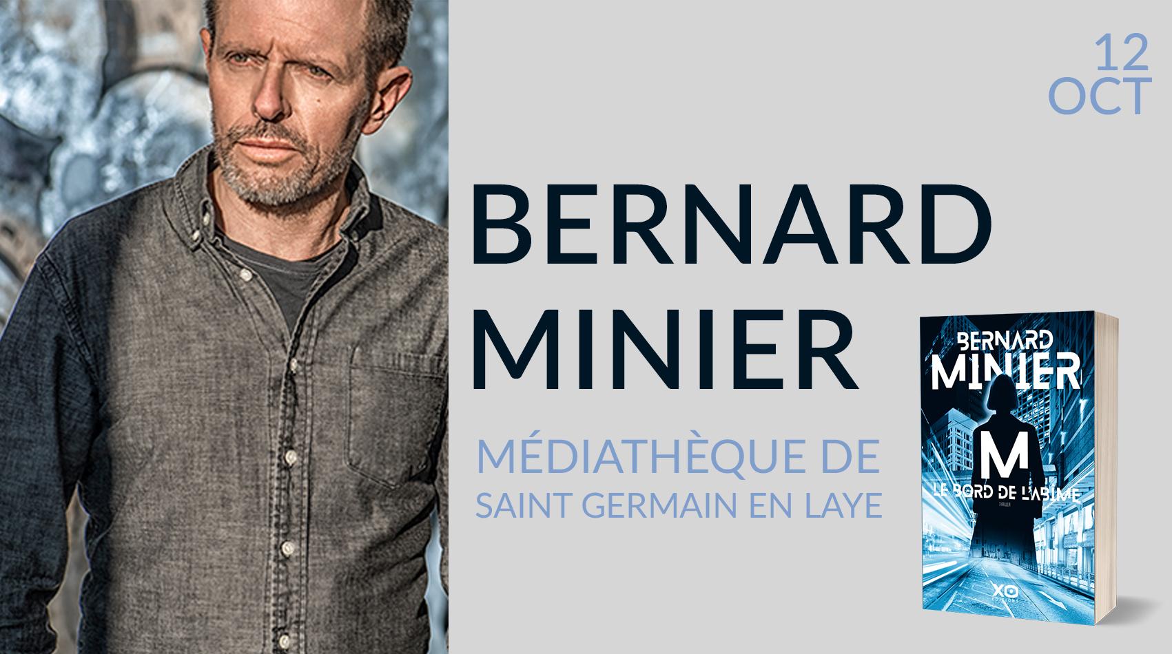 BERNARD MINIER À SAINT GERMAIN EN LAYE