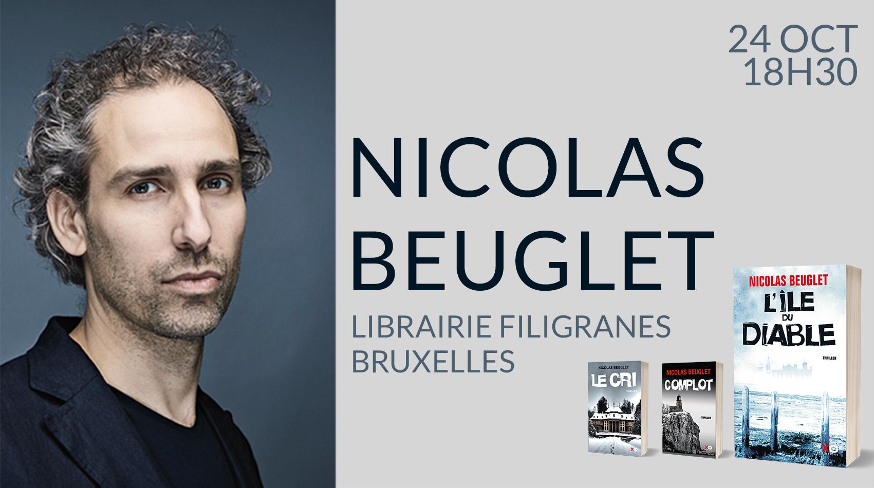 NICOLAS BEUGLET À BRUXELLES