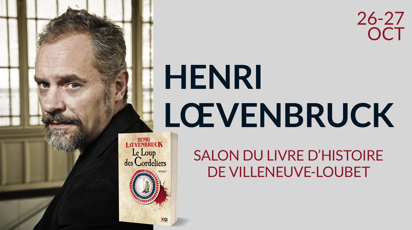 HENRI LOEVENBRUCK À VILLENEUVE-LOUBET