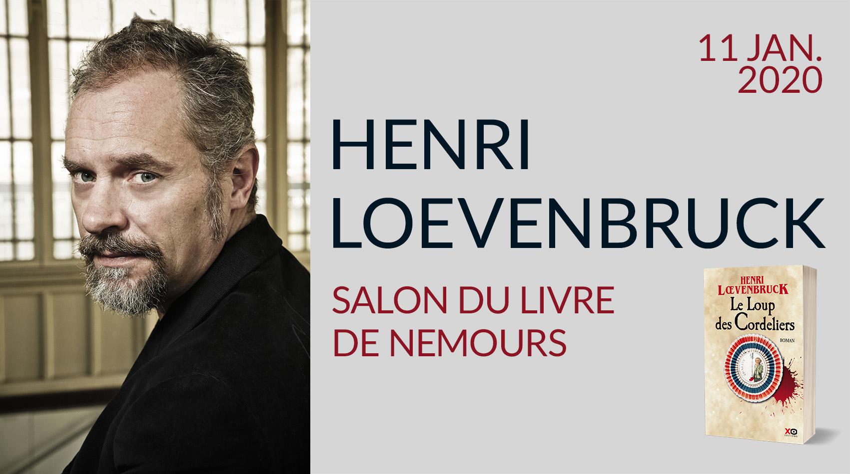 HENRI LOEVENBRUCK AU SALON DU LIVRE DE NEMOURS