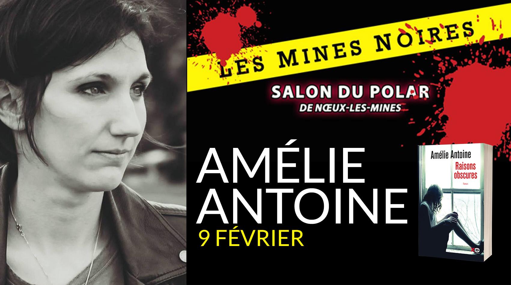 AMÉLIE ANTOINE AU SALON DES MINES NOIRES