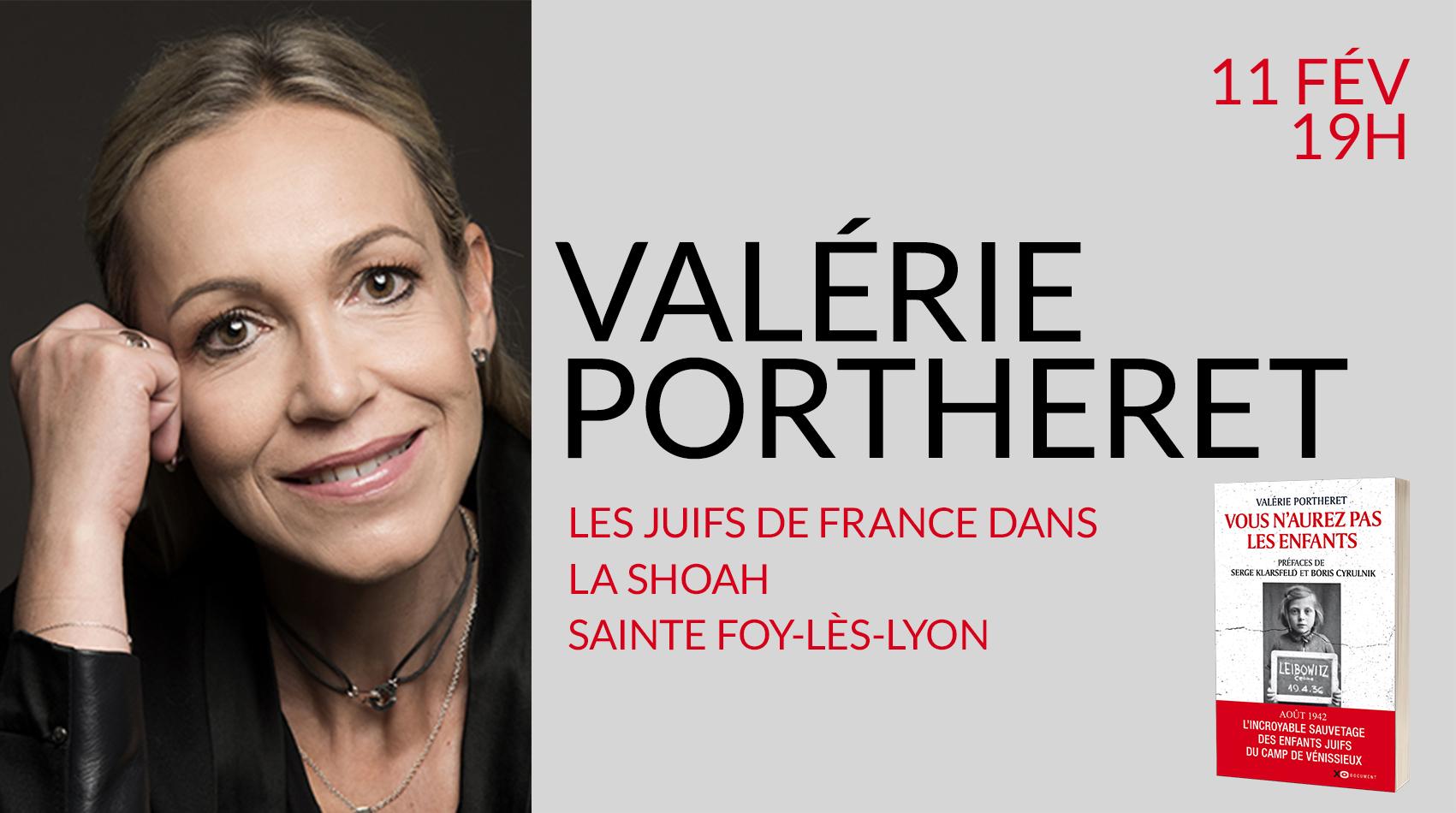 VALÉRIE PORTHERET EN CONFÉRENCE & DÉDICACE À SAINTE FOY-LÈS-LYON