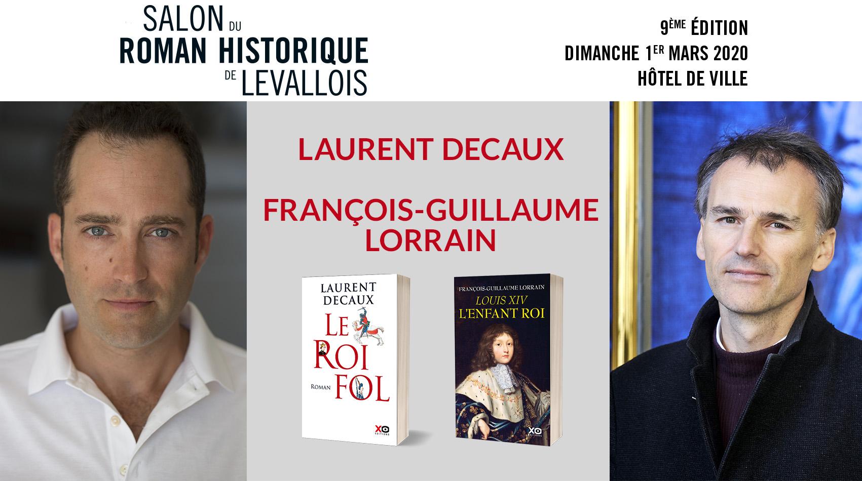 LES AUTEURS XO AU SALON DU ROMAN HISTORIQUE DE LEVALLOIS