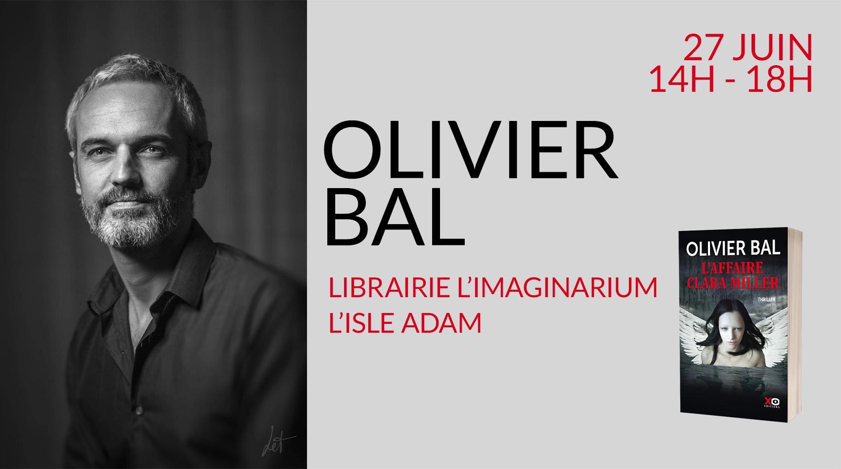 Olivier Bal en dédicace à L'isle Adam