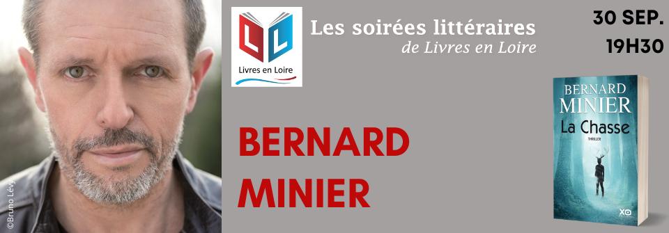 Les soirée littéraires de Livres en Loire avec Bernard Minier - Tours