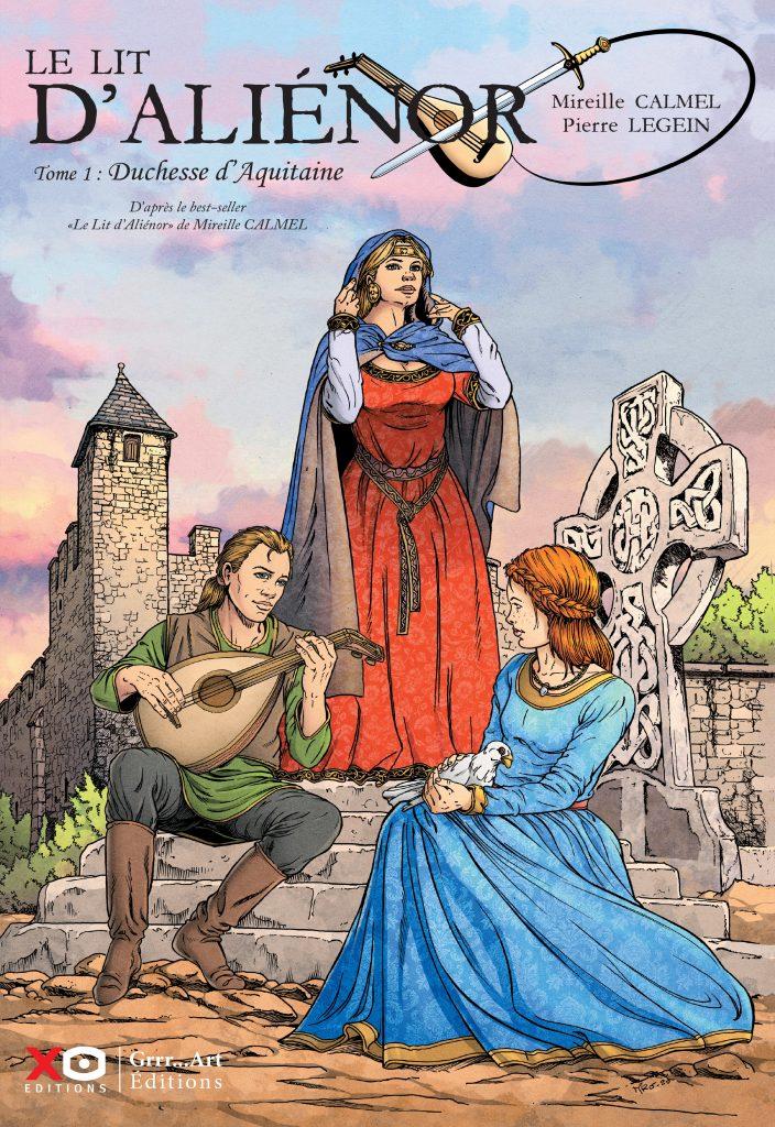 Le lit d'Aliénor - Duchesse d'Aquitaine
